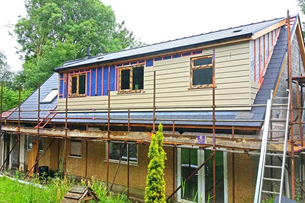 Extension and Cladding Work
